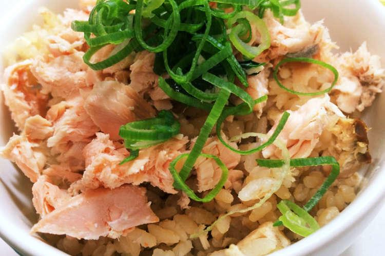 ご飯 鮭 炊き込み