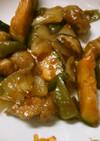 豚肉と かぼちゃ 野菜の オイスター炒め