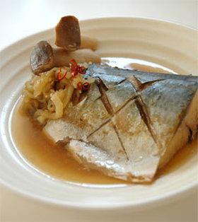 鯖の味噌煮 秋風味
