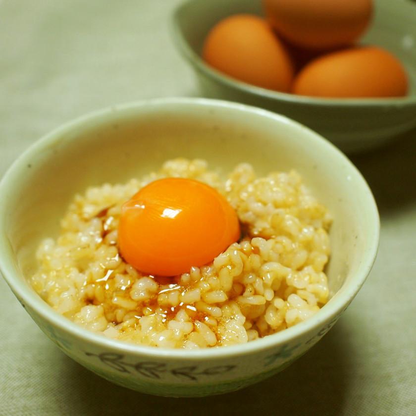 食べやすい卵かけごはん