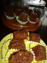 カロリー控えめチョコレートブラウニーの写真