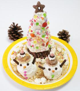 子どもと作ろう!クリスマスツリーケーキ