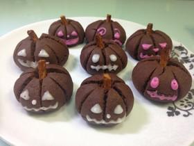 ハロウィン☆ブラックココアクッキー