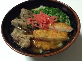 スープから作る本気のソーキソバ