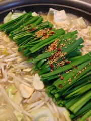 家庭で簡単に本場の味!博多風 醤油もつ鍋の写真