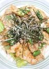 簡単☆薄切り豚ロースのピリ辛丼