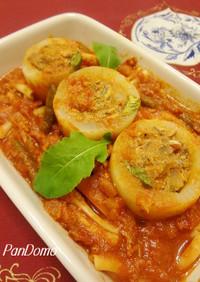 完熟トマトソースde大根ファルシー