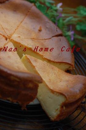 カスタードベイクドチーズケーキ