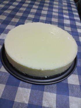 マシュマロ♪豆乳♪チーズ♪のケーキ!!
