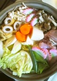 簡単♡土鍋で水炊き♪
