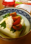 kawaii冷奴♡クリームチーズのせ豆腐