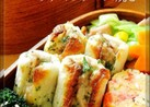 竹輪の柚子胡椒入りツナマヨチーズ焼き
