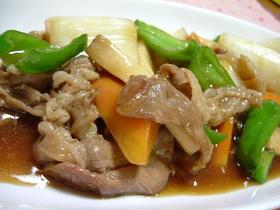 ☆豚&野菜のオイスターソース炒め☆