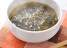 ダシダで簡単コク旨!韓国風わかめスープ