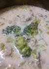 大量白菜と豚味噌みるく煮