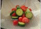 きゅうりとミニトマトの簡単サラダ