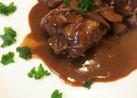 フライパン1つ★洋食屋の鶏肉の赤ワイン煮