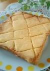 簡単朝ごはん☆ほぼメロンパンなトースト★
