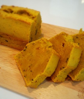 濃厚♪かぼちゃのパウンドケーキ