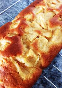 HMで簡単♡りんごのパウンドケーキ
