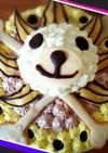 ワンピースサニー号のケーキ