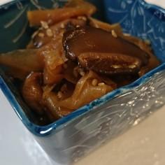 簡単☆ご飯泥棒!新しょうがと椎茸の常備菜