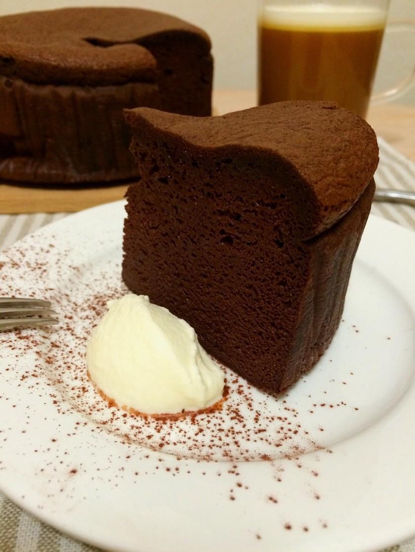 糖質制限*濃厚ガトーショコラ
