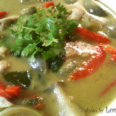 タイ料理 チキングリーンカレー