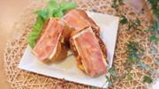 ベーコンとチーズのフレンチトースト♪の写真