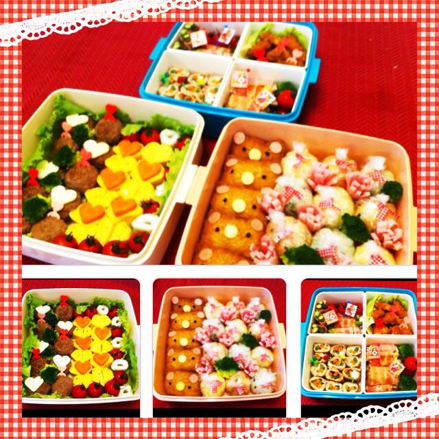 ♡2014年 年長さんの運動会お弁当♡