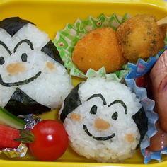 幼稚園のお弁当(おむすびまん)
