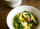 簡単♪春の味*菜の花の卵とじスープ