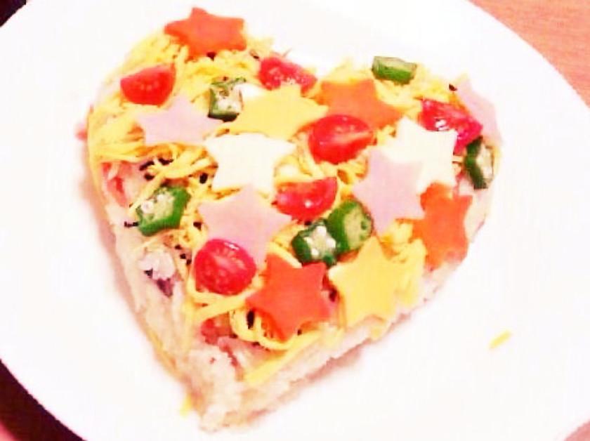 七夕☆簡単お寿司ケーキ