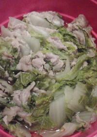 豚こま切れ肉と白菜のミルフィーユ