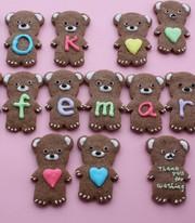 アイシングでクッキーがぐんと可愛くなる!の写真
