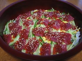 ☆簡単豪華☆旬のいくらで生ちらし寿司♪