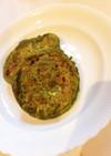 小松菜パンケーキ。(10ヶ月離乳食)