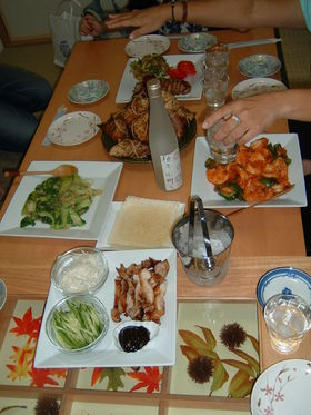 青梗菜のシンプル炒め