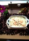 里芋と豆乳のチーズたっぷりグラタン!