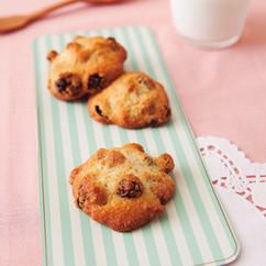 卵白のクッキー