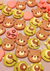 くまチャン&マイクの可愛いクッキー♡