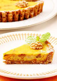 ベイクドパンプキンチーズケーキ