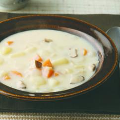秋野菜のミルクシチュー