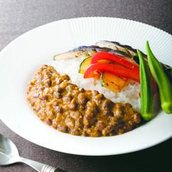 小豆のベジタブルカレー