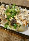 レンジで!鮭と秋野菜に豆乳おからソース♡