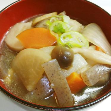 野菜たくさん けんちん汁で温まろう♬