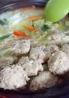 お鍋やスープに!蓮根コリコリ☆塩麹鶏団子