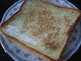 懐かしい簡単トースト・・・