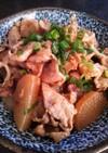 豚肉と大根の照り煮