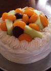 時短!オーブンなし簡単バースデーケーキ